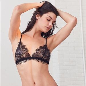 738c418428037 Urban Outfitters Intimates   Sleepwear - Out from Under Annette Black Lace  Triangle Bra S